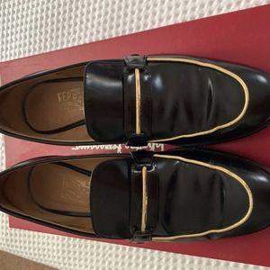 Authentic Salvatore Ferragamo Leather Shoes